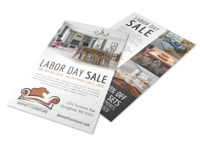 Labor Day Sale Flyer Template preview