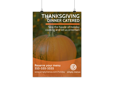 Thanksgiving Poster Templates Template Preview