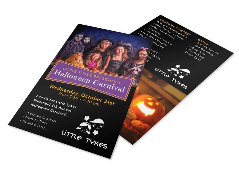 Halloween Carnival Flyer Template