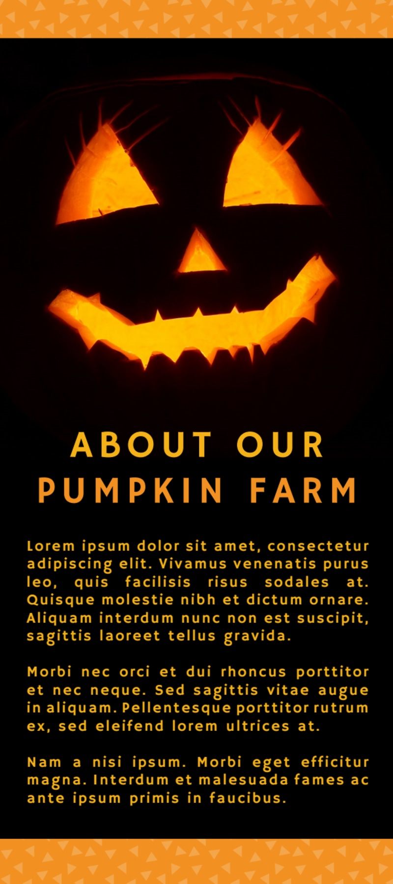 Halloween Pumpkin Patch Flyer Template Preview 3