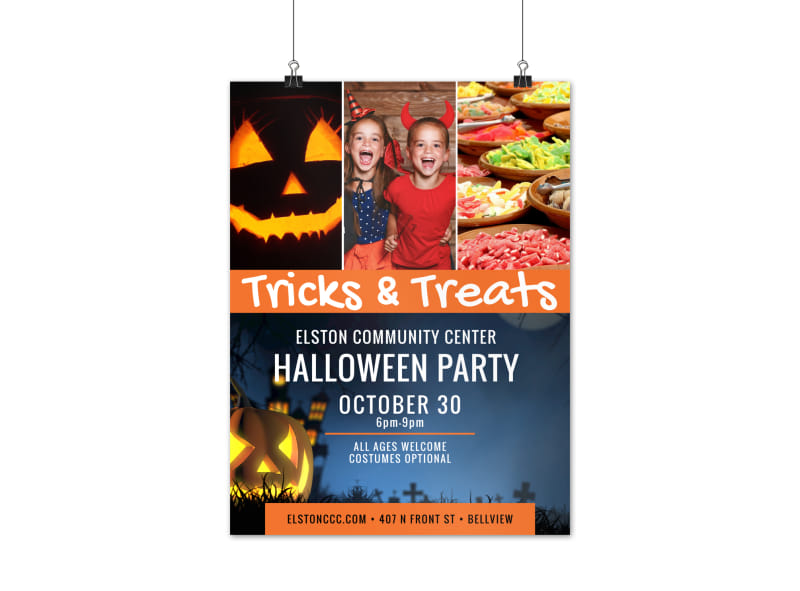 Halloween Event Poster Template