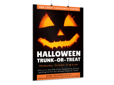 Halloween Special Event Poster Template