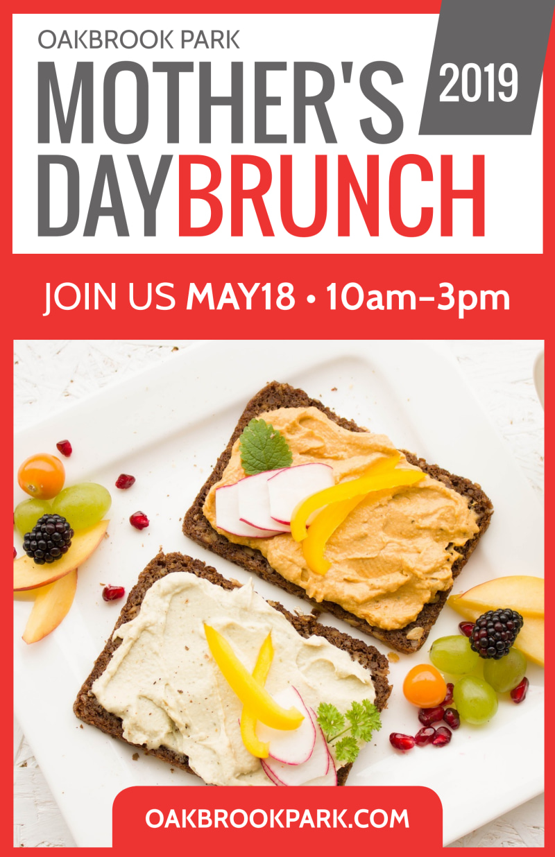 Mother's Day Brunch Poster Template Preview 2