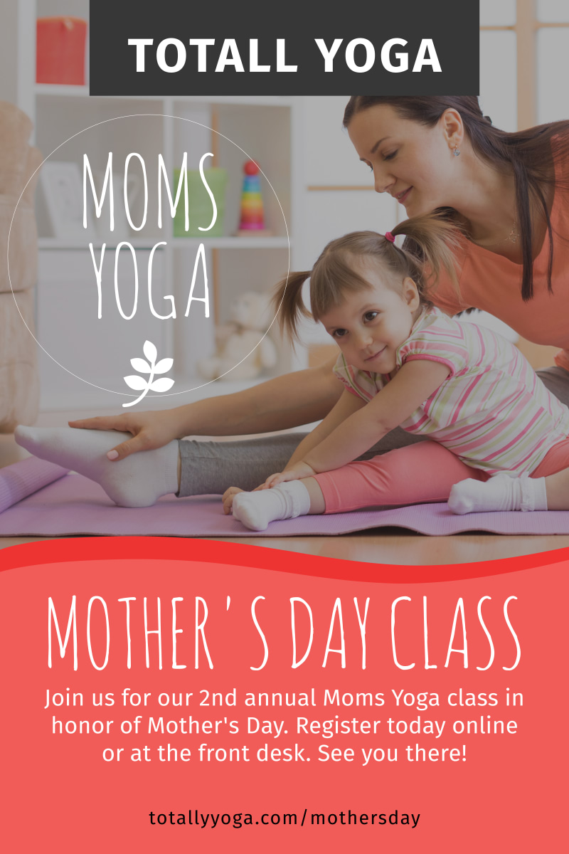 Mother's Day Yoga Poster Template Preview 2