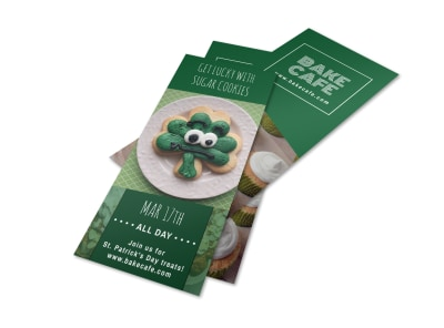 Baking Saint Patrick's Day Flyer Template preview