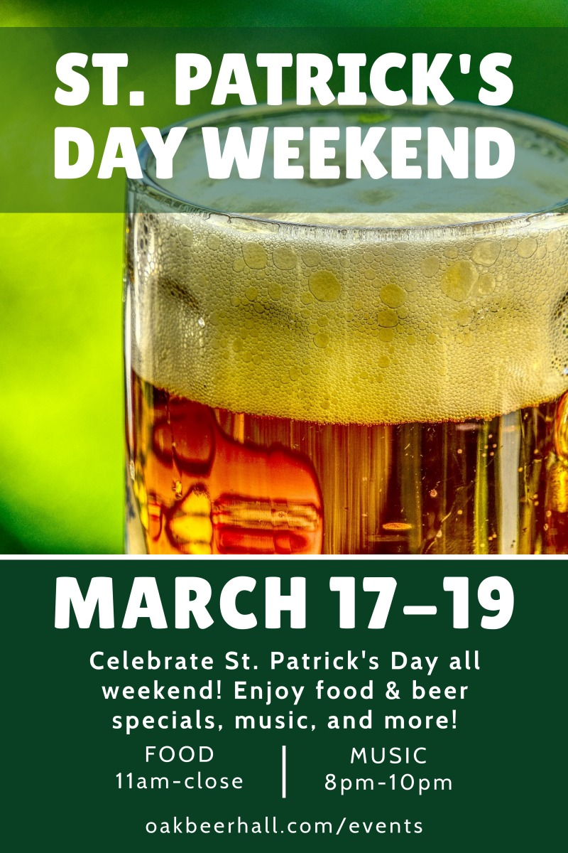Saint Patrick's Day Weekend Poster Template Preview 2