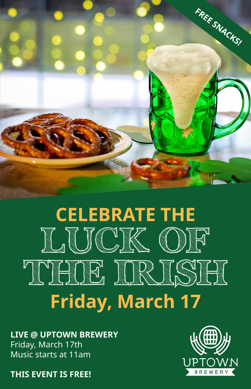 Saint Patrick's Day Irish Luck Poster Template Preview 2