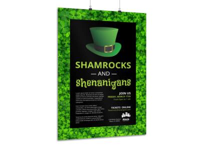 Shamrock Poster Template