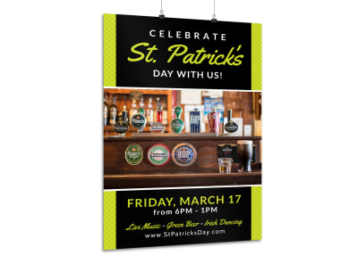 Saint Patrick's Day Poster Template il0buu4foh preview