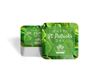 Classic Saint Patrick's Day Coaster Template