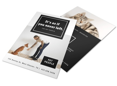 Pet People Flyer Template preview