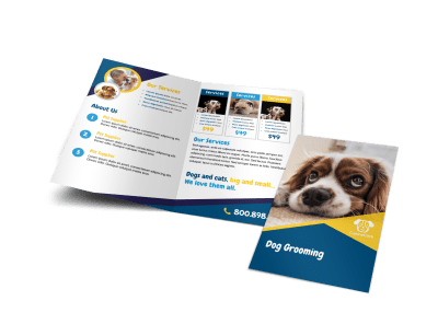 Pets & Animals Brochures Template Preview