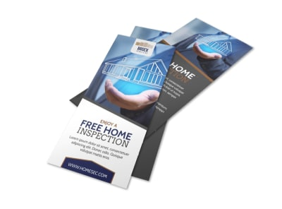 Home Inspection Flyer Template preview