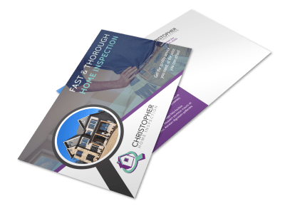 Home Inspection Postcard Templates Template Preview