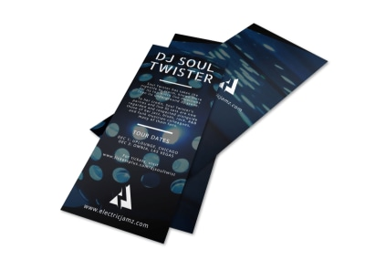 DJ Soul Flyer Template preview