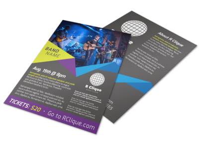 Band Nightclub Flyer Template preview