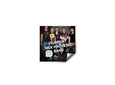 Music Tour Sticker Template preview