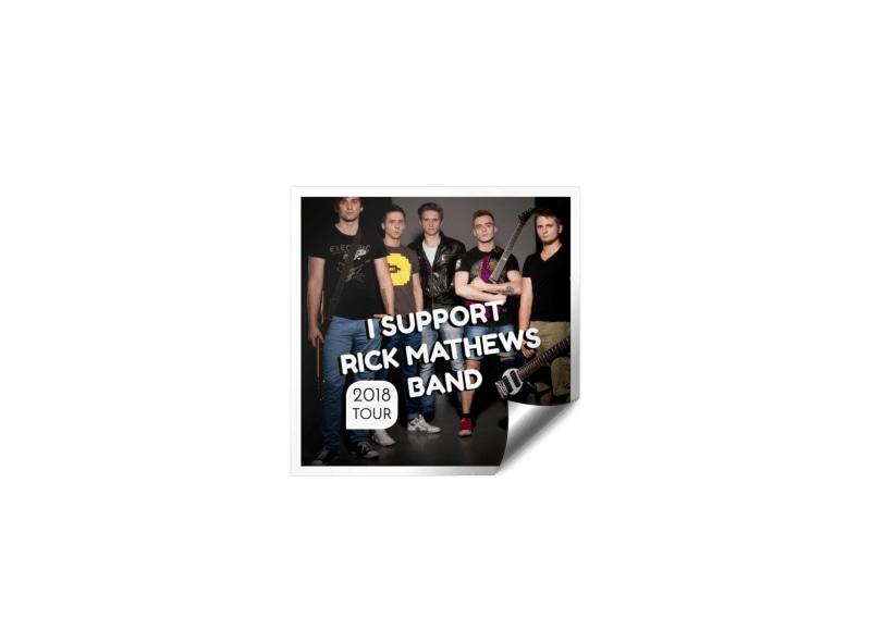 Music Tour Sticker Template