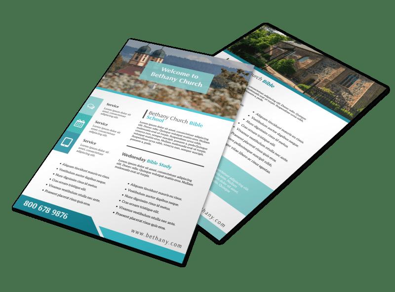 Bible School Flyer Template Preview 1