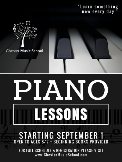 Piano Lessons Poster Template Preview 1