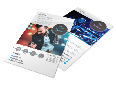 Concert Venue Flyer Template preview