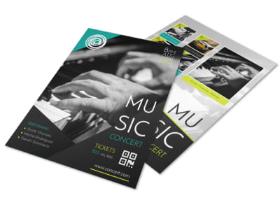 Creative Music Concert Flyer Template preview