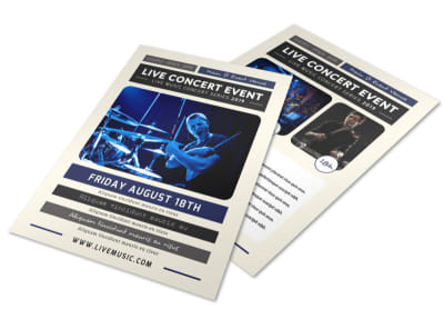 Live Concert Event Flyer Template