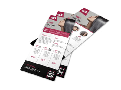 Hair Salon Stylist Flyer Template