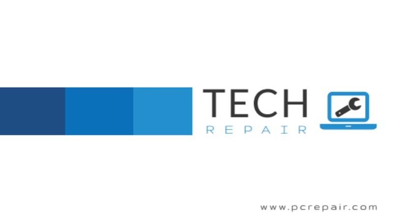 Awesome Computer Repair Business Card Template Preview 3