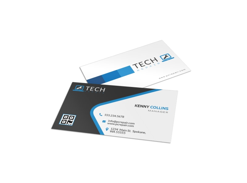 Awesome Computer Repair Business Card Template