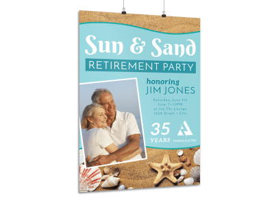 Retirement Party Poster Templates Template Preview