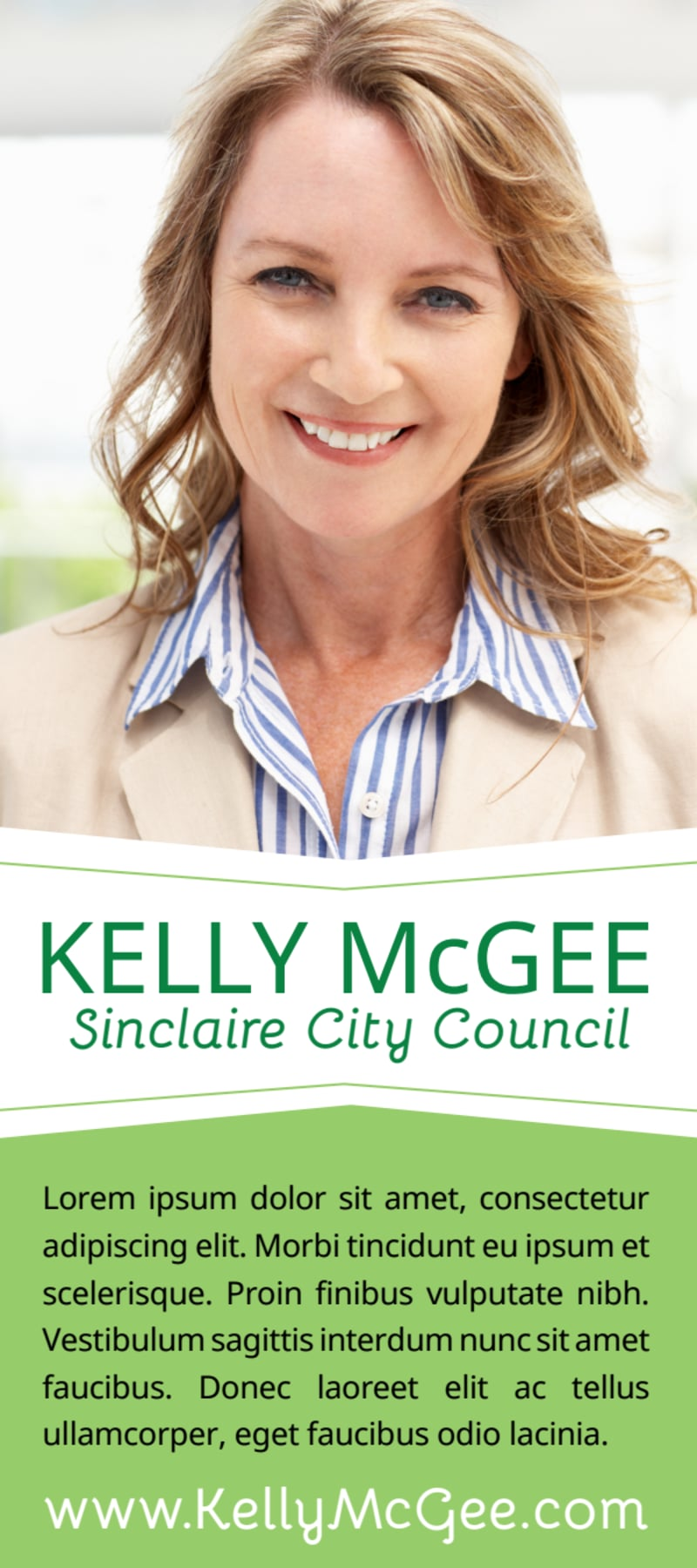 City Council Campaign Flyer Template Preview 2
