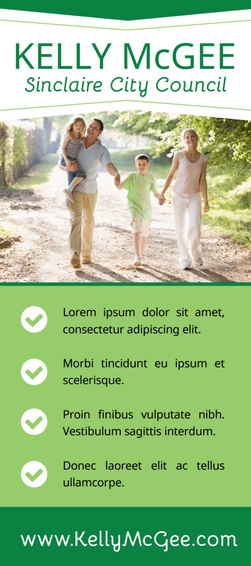 City Council Campaign Flyer Template Preview 3