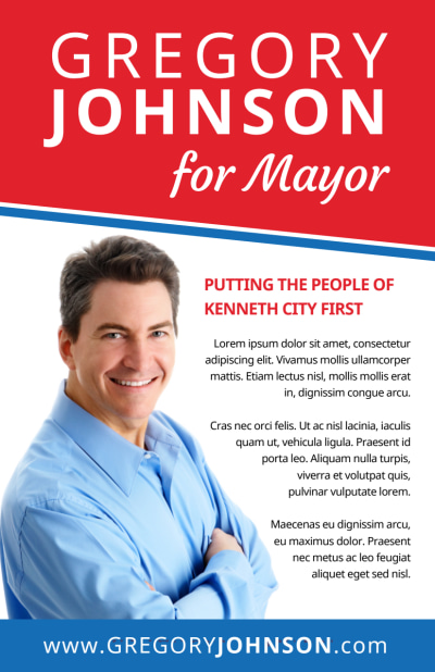 Campaign For Mayor Flyer Template Preview 1