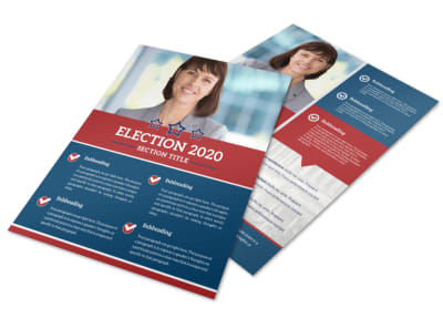 Campaign Informational Flyer Template preview