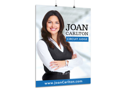 Professional Campaign Poster Template preview