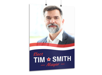 Mayor Campaign Poster Template