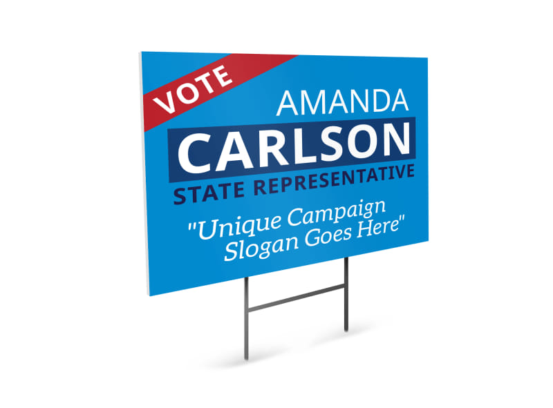 Campaign Vote Yard Sign Template