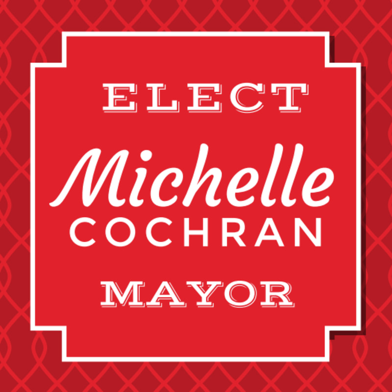 Mayor Campaign Sticker Template Preview 2