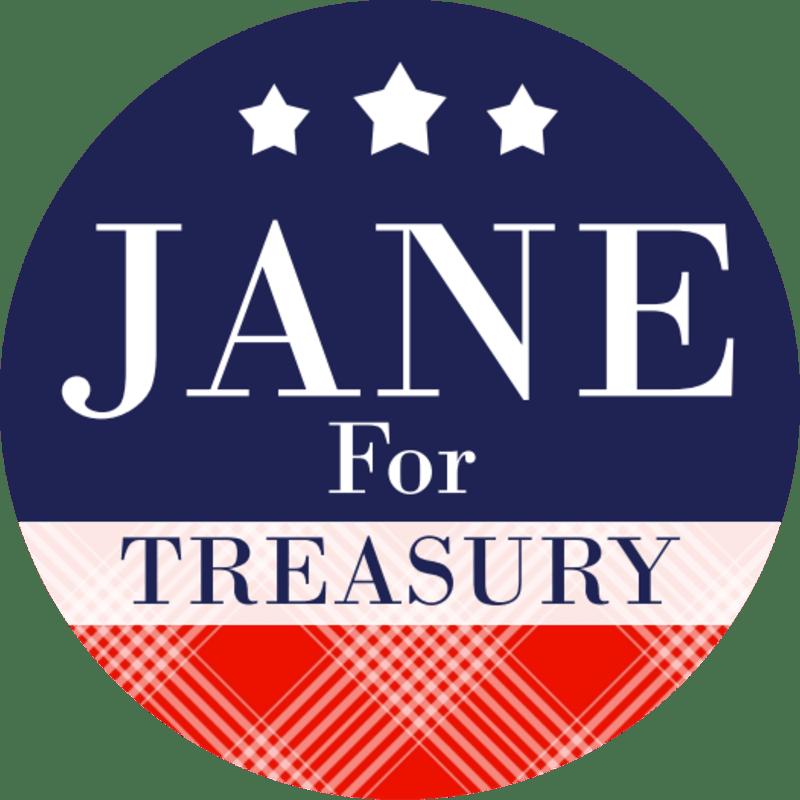 Classic Campaign Sticker Template Preview 2