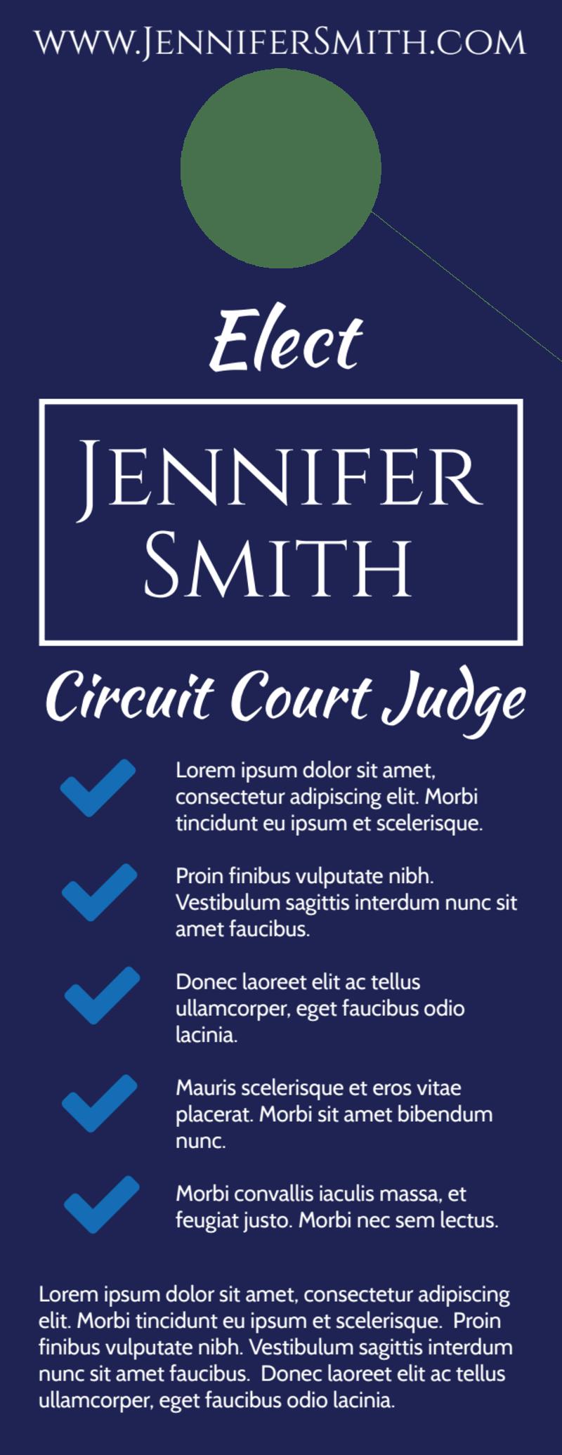 Circuit Court Judge Door Hanger Template Preview 3