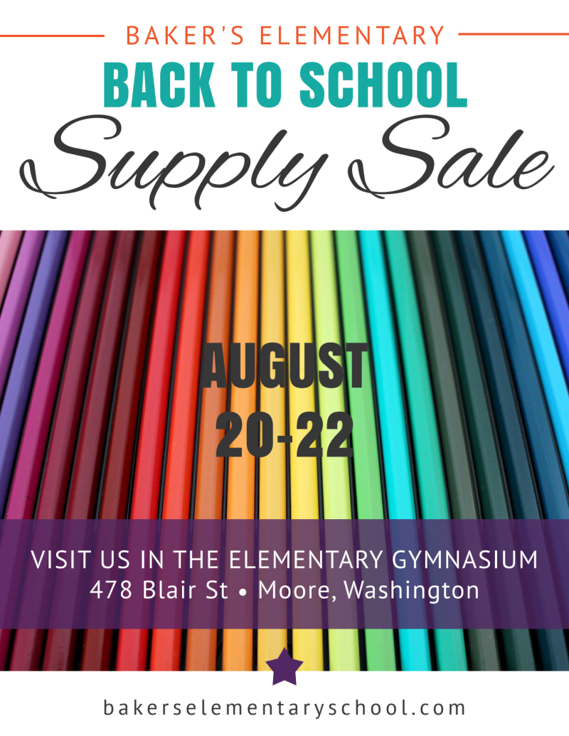 Elementary Back To School Flyer Template Preview 2