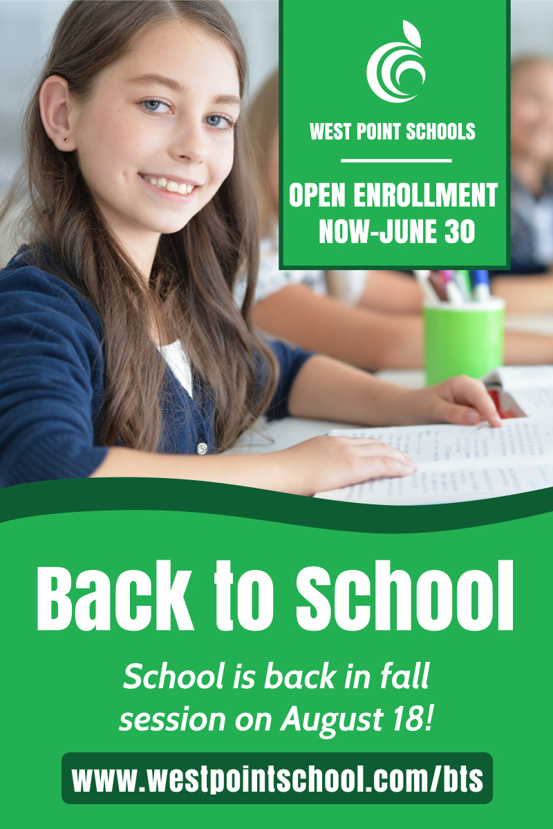 Green Back To School Poster Template Preview 2