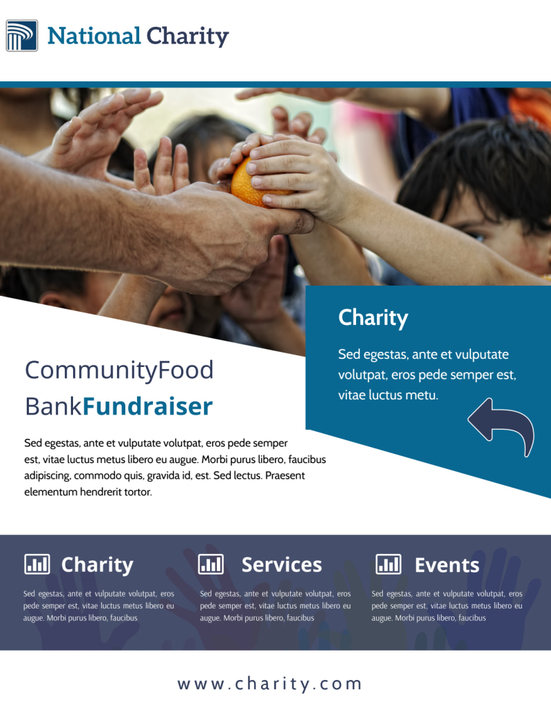 Fundraising Event Flyer Template Preview 2