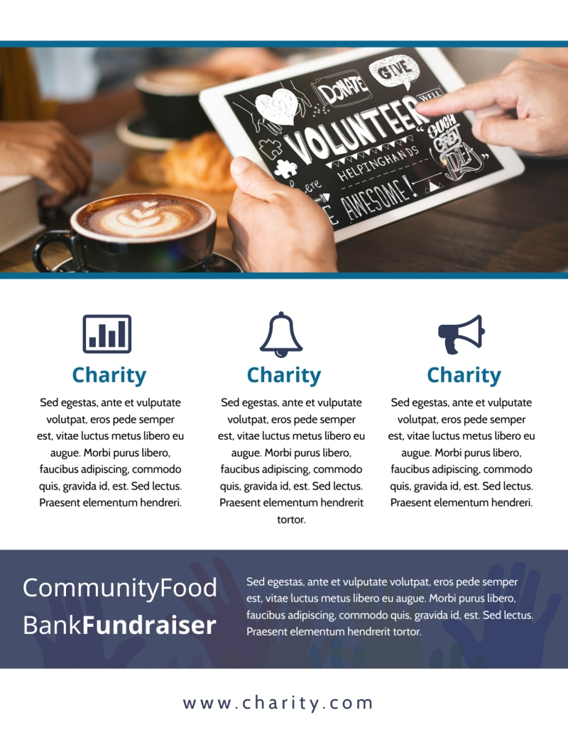 Fundraising Event Flyer Template Preview 3