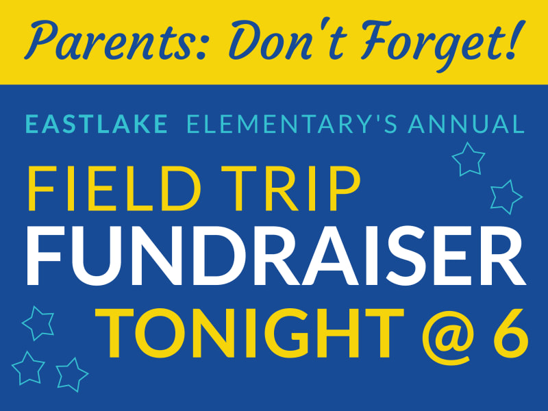Field Trip Fundraiser Yard Sign Template Preview 2