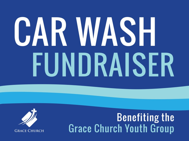 Car Wash Fundraiser Yard Sign Template Preview 2