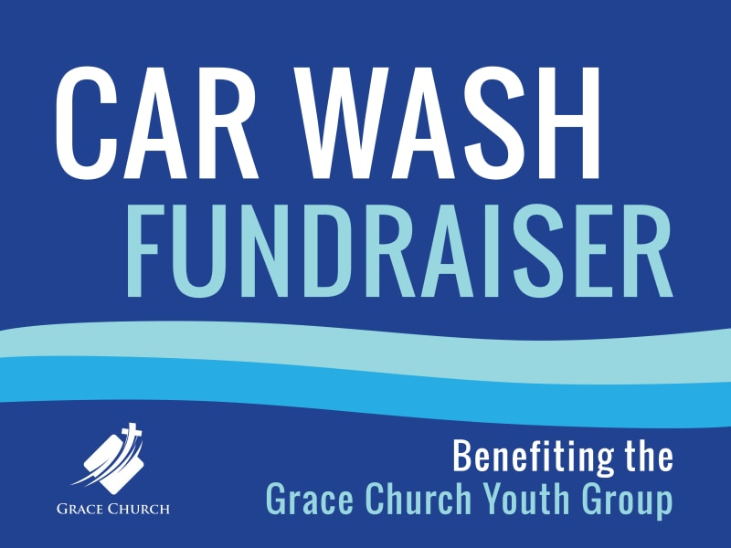 Car Wash Fundraiser Yard Sign Template Preview 3
