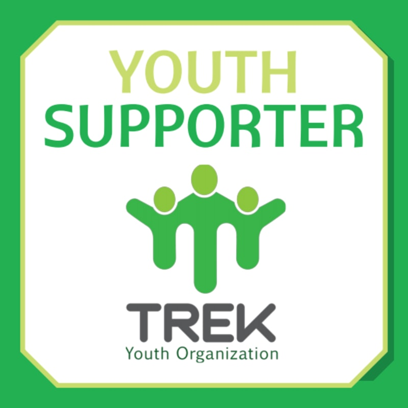 Youth Supporter Fundraising Sticker Template Preview 2