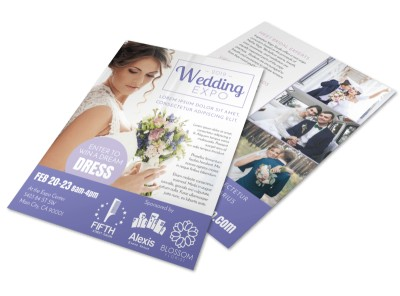 Wedding Expo Flyer Template preview